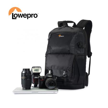 乐摄宝(Lowepro)Fastpack BP 250 II AW 新款风行BP250相机包专业单反防雨双肩摄影包 黑色 LP36869-PWW