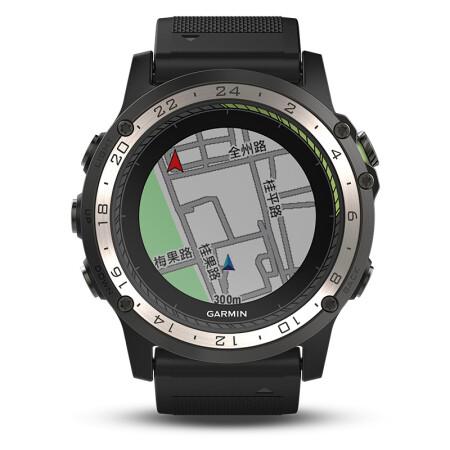 佳明(GARMIN) D2 Charlie航空飞行员手表 GPS智能手表 多功能心率表 智能导航运动手表