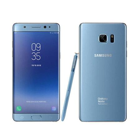 三星galaxy note2蓝_三星(SAMSUNG) Galaxy Note 7 fe 粉丝版Fan Edition 珊瑚蓝 限量发售 ...