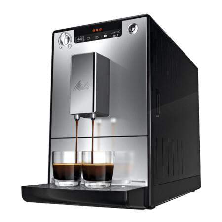 美乐家全自动咖啡机_美乐家(melitta) 欧洲直邮 Caffeo Solo E950 全自动家用咖啡机 银色 ...