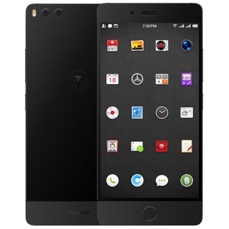 锤子 坚果Pro 64GB 碳黑色 全网通 移动联通电信4G手机 双卡双待