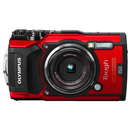 奥林巴斯(OLYMPUS)TG-5 红色 六重安全防护 显微、水下、防雾、4K、延时等 WIFI分享 F2.0光圈