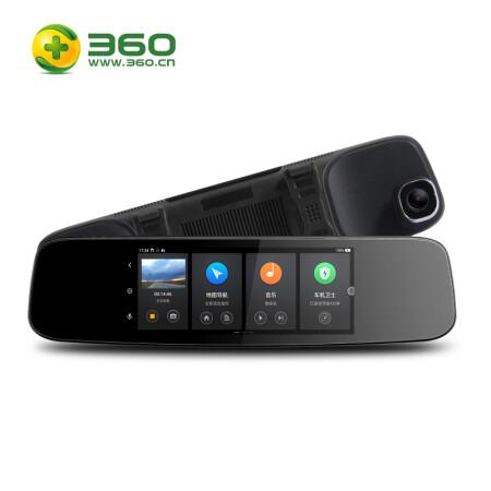 360 智能后视镜导航云镜 行车记录仪 S650 新品首发
