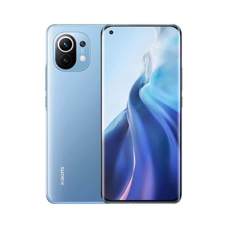 小米11 5G 骁龙888 2K AMOLED四曲面柔性屏 1亿像素 55W有线闪充 50W无线闪充 8GB+256GB 蓝色 游戏手机