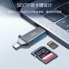 川宇 USB3.1 高速多功能合一OTG手机读卡器 支持SD/TF 锌合金