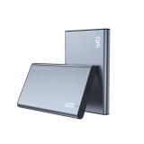 大迈(DM)Type-C 移动硬盘盒 HD002系列 2.5英寸 灰黑色 SATA3.0串口笔记本台式外置壳固态机械ssd硬盘盒