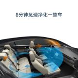 遠大 BROAD車載空氣凈化器除霧霾PM2.5凈化機車用測氧肺保 深灰色 FC2
