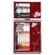 Midea美的二星级80系列立式家用消毒柜/碗柜MXV-ZLP80K03