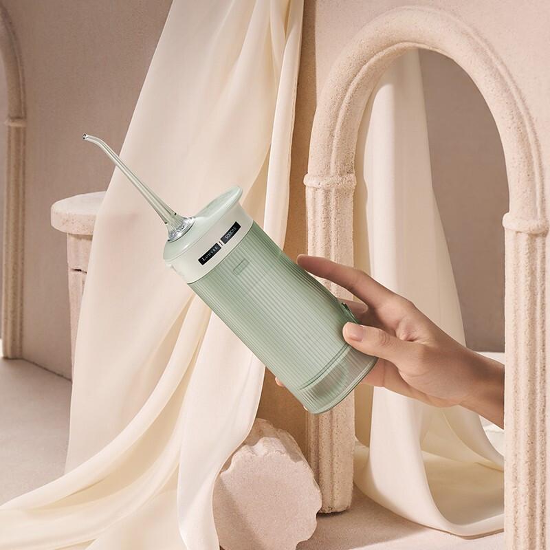 素士卢浮宫联名冲牙器,送女朋友可爱好用随身礼物