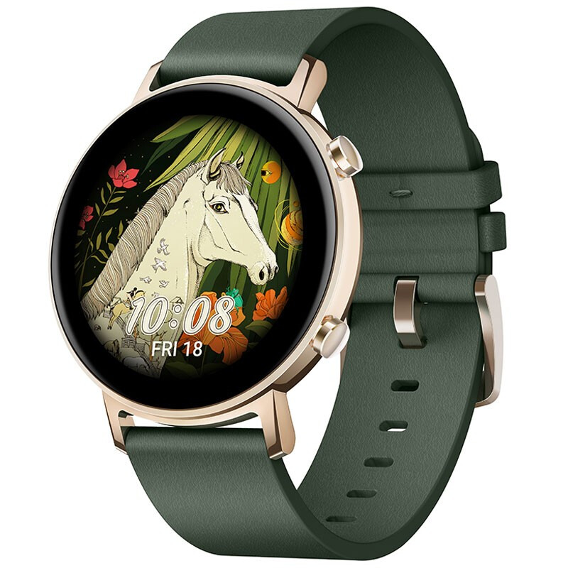 华为秘境森林绿智能手表,送女朋友颜值实用礼物