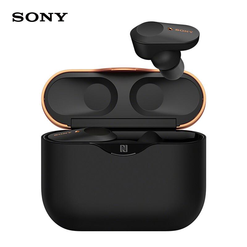 索尼真无线蓝牙降噪耳机,智能降噪触控面板