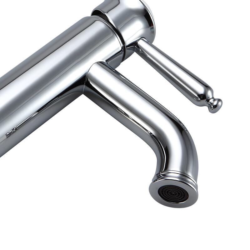 朝阳卫浴水龙头冷热水L186单把单孔洗手盆龙头面盆水龙头全铜