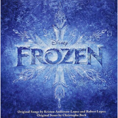 Christophe Beck Frozen 冰雪奇缘 OST电影原声带 1CD Z13 55M24
