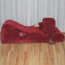 性爱固--_豪华充气式震动爱床 全自动激情爱沙发 束缚式充气性爱床 情趣