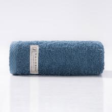 孚日洁玉 日本出口AAA级抑菌技术加厚洗脸洗澡巾单条装 32*70cm 蓝色 90g/条