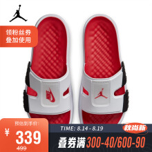 AJ 复刻男子 AIR JORDAN HYDRO 8 RETRD 拖鞋 CZ3607 CZ3607-100 42.5