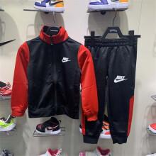 Nike耐克儿童装秋装2020新款男小童长袖拉链夹克长裤套装NY2032030PS002 NY2032030PS002 4