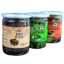 秋葵脆香菇脆综合果蔬脆罐装 即食水果干蔬果干果零食混合蔬菜脆 香菇1罐+综合果蔬1罐+薯条脆1罐