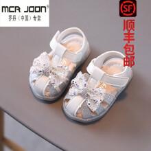 支持鴻星尔克乔·丹(中国)专卖童凉鞋女童凉鞋夏女宝宝公主鞋学步鞋子软底0一2儿童鞋婴儿幼童 白色 15码(内长11.5