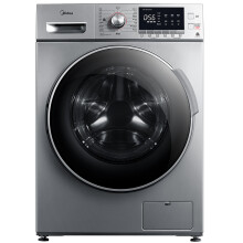 京品家电美的 Midea 滚筒洗衣机全自动 12公斤超大容量 BLDC静音变频电机 喷淋洗涤 MG120VJ31DS3