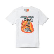 【亚洲艺术家系列】Vans/范斯夏季黑色男款短袖T恤|VN0A3DDUBLK VN0A3DDUWHT/白色 M