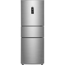 美的(Midea)258升 风冷无霜 电脑控温 中门24档调温三门冰箱速冷速冻 节能 炫彩钢 BCD-258WTM(E)