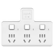 玛雅 MAYA 一转三商旅/家用便携式插座转换器/转换头 独立开关无线电插板排插 SY1-3N *7件 109.3元(合15.61元/件)