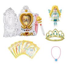 奧迪雙鉆(AULDEY) 巴啦啦小魔仙魔法棒玩具套裝女孩變身器吧啦巴拉拉小魔仙之飛越彩靈堡魔法海螢堡 彩俐公主太陽魔法禮盒581573