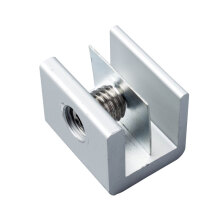 窗锁扣塑钢门窗轨道卡扣限位器铝合金宽轨锁扣推拉窗户安全防盗锁