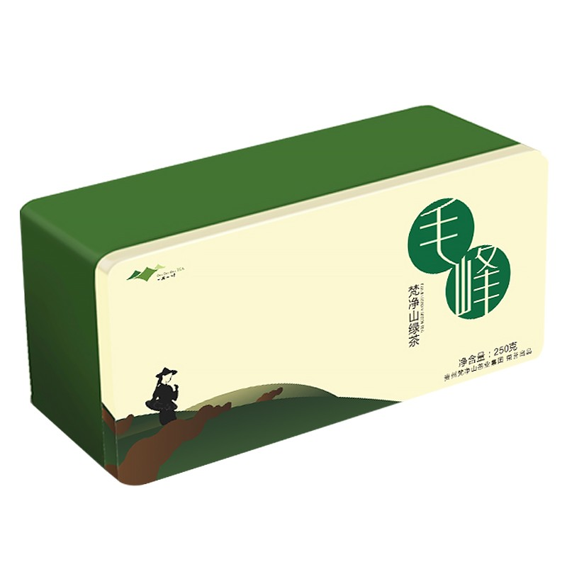 【官方旗舰店】贵州特产梵净山毛峰绿茶 礼盒装250g