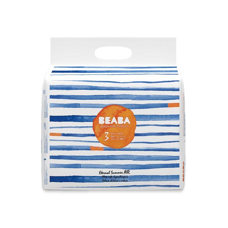 【旗舰店】beaba 碧芭宝贝尿不湿盛夏光年纸尿裤M-36片(6-11kg)