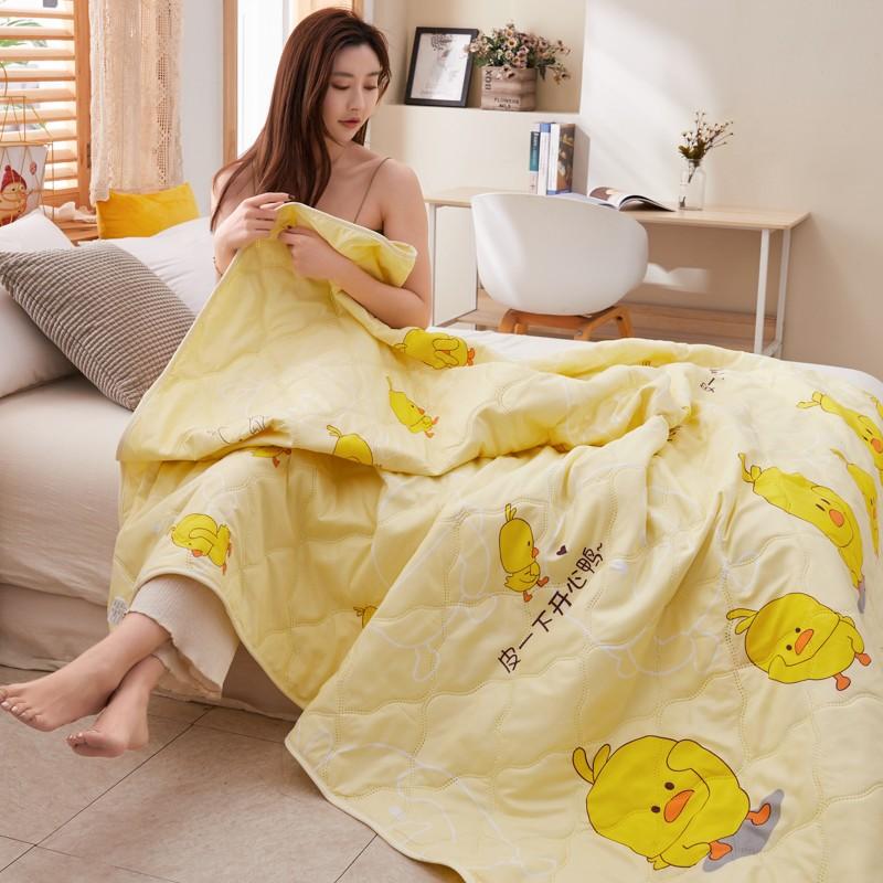 【旗舰店】可裸睡水洗空调被双人夏凉被*2m床(200*230cm)