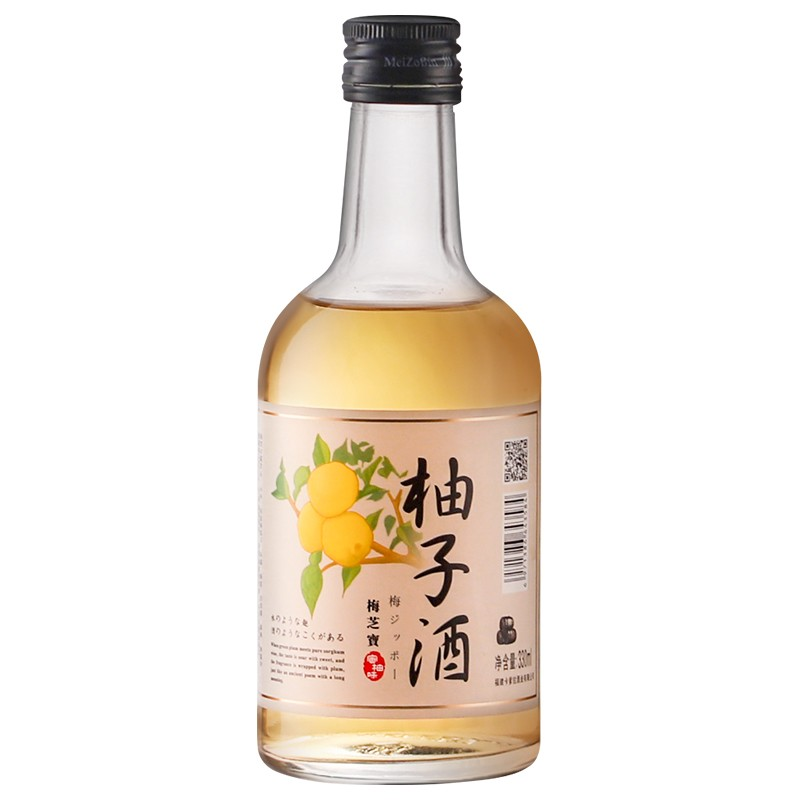 【漏洞11.1元】梅芝宝系列12度330ml柚子酒