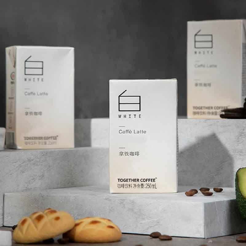 【热销速抢】Never Coffee 拿铁咖啡3盒+黑咖啡3盒