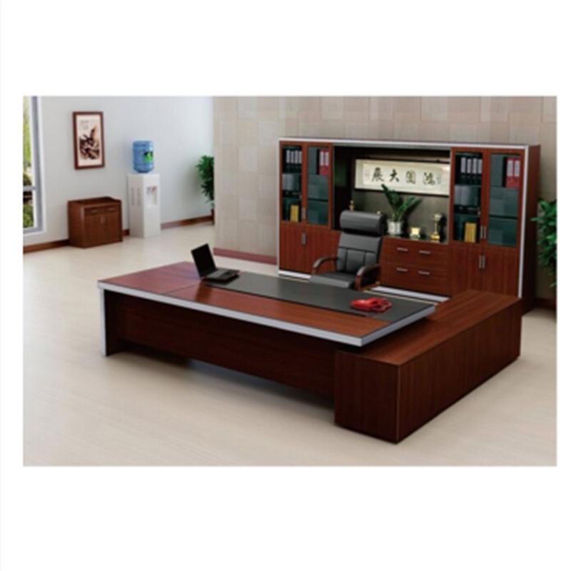 辦公家具辦公桌上?,F代總經理桌板式主管桌時尚電腦桌新款大班臺高檔