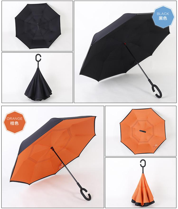 免持式反向伞福利礼品