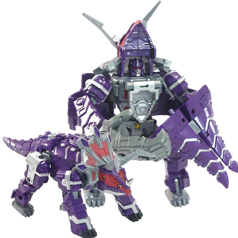 錦江 兒童玩具變形機器人 金剛4 恐龍合體五合一 變世圖片