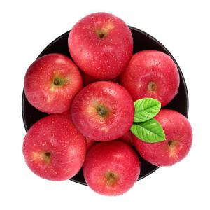 京觅 陕西洛川红富士苹果12粒 果径80mm 净重2.6kg以上 *3件 +凑单品47.5元(双重优惠)