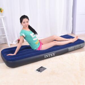 INTEX 68950 条纹植绒充气床59元