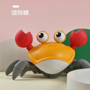 搭啵兔 儿童洗澡玩具牵绳螃蟹水陆两用 主图