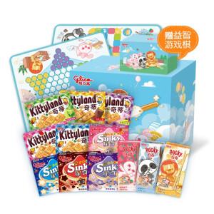 格力高 童趣儿童礼盒 3个系列12种口味/12盒 主图