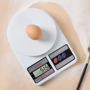 BAIJIE 拜杰 拜杰(Baijie)厨房秤 家用烘培电子秤厨房电子称 0.1g/1kg精准食物秤 SF-400 主图