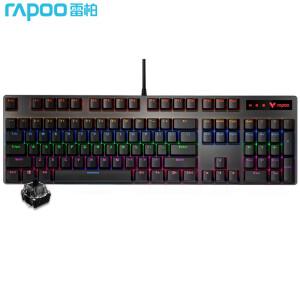 有券的上、亲子会员:RAPOO 雷柏 V500PRO 机械键盘 黑轴 混光 主图