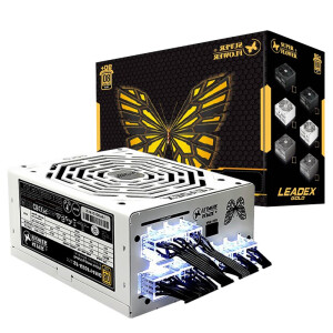 SUPER FLOWER 振华 LEADEX G 550W 电脑电源 金牌(90%)550W 全模组化499元包邮
