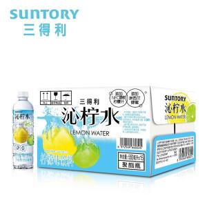 有券的上:SUNTORY 三得利 沁柠水 柠檬味饮料 蜂蜜柠檬水 550ml*15瓶整箱装 主图