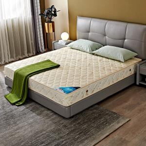 QuanU 全友 全友家居 床垫锰钢弹簧椰棕席梦思床垫正反软硬两用弹簧床垫 105001 1800*2000 主图