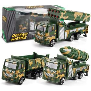 JIMITU 吉米兔 合金小汽车玩具套装 导弹车(多款可选) 主图