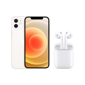 Apple 苹果 iPhone 12 5G智能手机 128GB+AirPods 有线充电版 主图