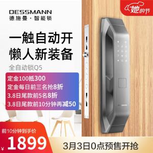 DESSMANN 德施曼 Q5P 全自动智能指纹锁 主图