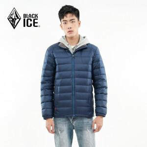 24日0点: BLACK ICE 黑冰 T1201 男士户外羽绒服 主图